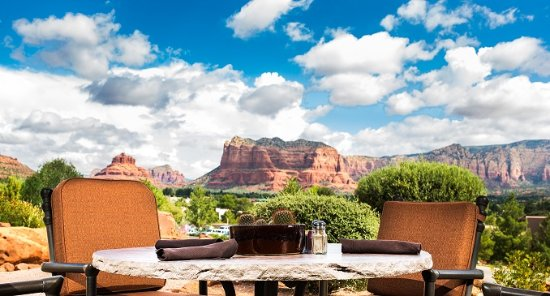 Sedona Golf Resort: Patio Seating