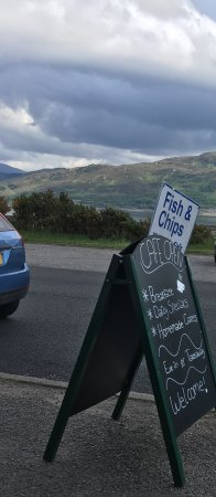 Lochcarron, UK: Good menu
