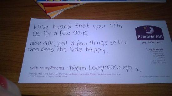 Foto de Premier Inn Loughborough Hotel