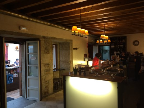 Bar Recantos: Bar Area Leading To Interior Courtyard