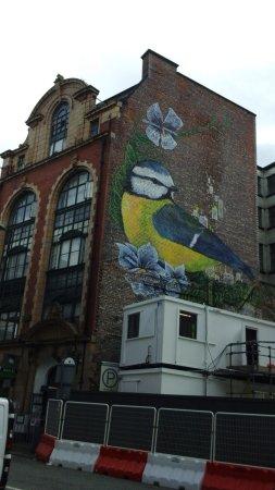 هاترز هوستل مانشيستر: Outside building