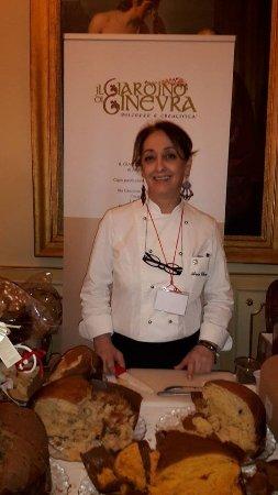 Casapulla, อิตาลี: Anna Chiavazzo la chef che ha creato il Giardino di Ginevra