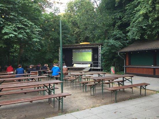 Restaurant Forstbaumschule: Außenbereich