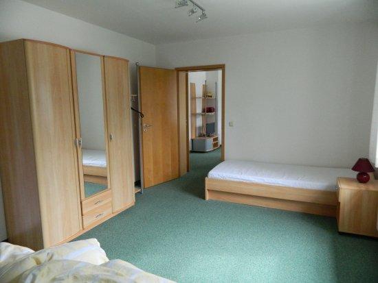 Sonnenhof: Schlafzimmer, mit dem 3ten Bett