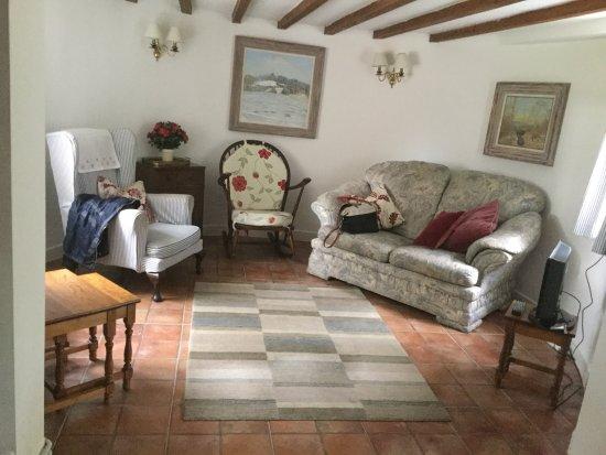 Mayfield, UK: Sitting room