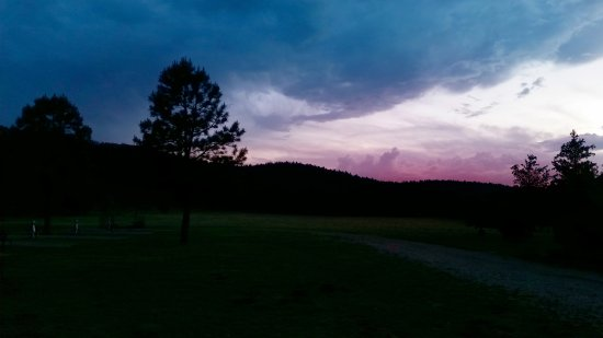 Mayhill, NM: Sunset at Cool Pines