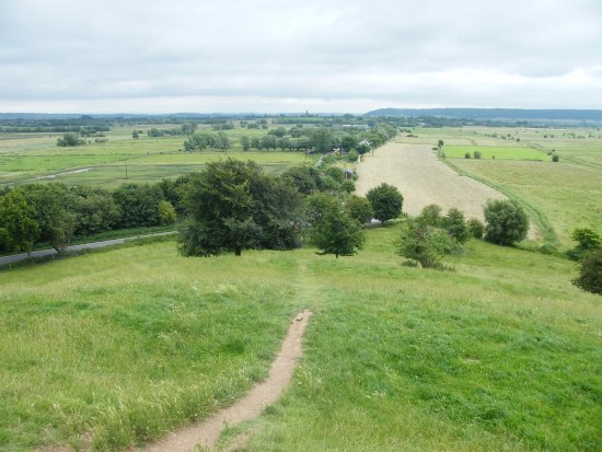 Burrow Mump: The walk up