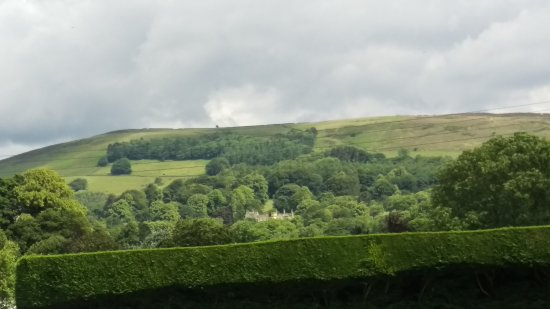 Hope, UK: View from our camper van