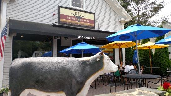 Rio Brazilian Steakhouse: The entrance