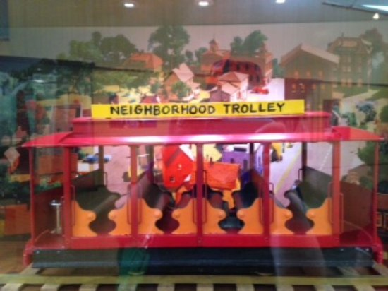 Trolley Picture Of Fred Rogers Exhibit Latrobe Tripadvisor