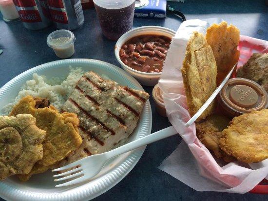 Calypso Cafe : We always order extra tostones!