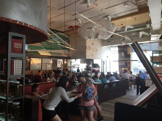 Potomac, Maryland: 店内の雰囲気