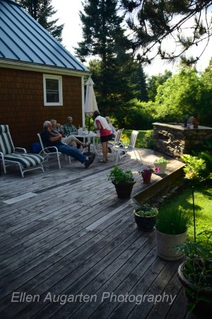 Derby, VT: Back Deck