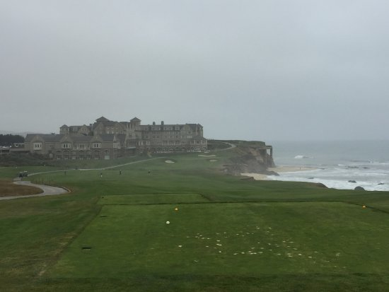 The Ritz-Carlton, Half Moon Bay: 18th tee box on the Old Course