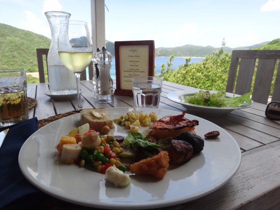Guana Island: Lunch with a view!