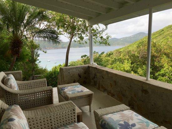 Guana Island: Eleuthera terrace