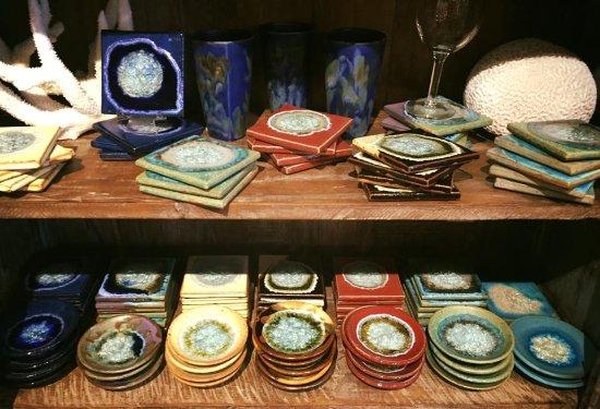 Solana Beach, CA: Handcrafted Coasters