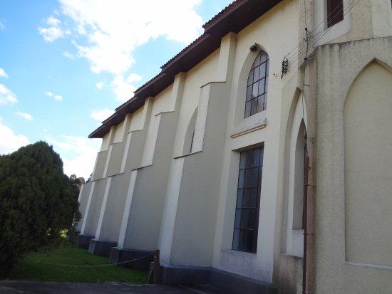 Lateral da Igreja Evangélica Menonita - Colônia Witmarsum - Palmeira PR