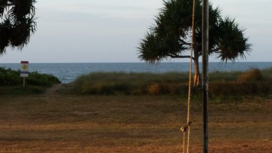 Moore Park Beach, Australia: the view from our site