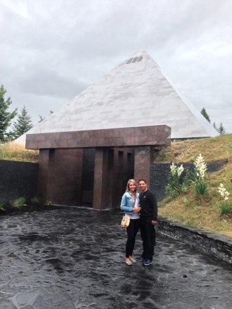 West Kelowna, Kanada: Summerhill Winery Pyramid