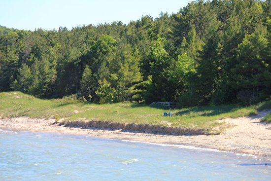 Lake Michigan from Petoskey State Park Campground