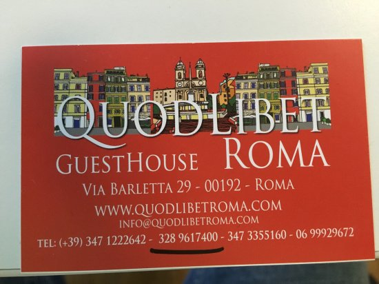QuodLibet: Business Card