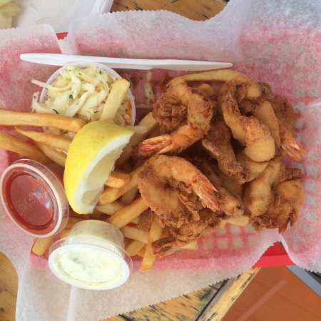 Westbrook, CT: Fried Shrimp and fries