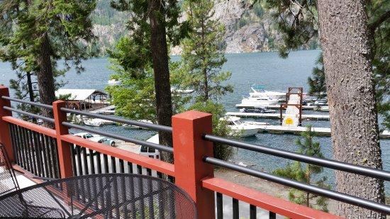 Stehekin, WA: another view from balcony