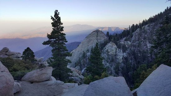 Idyllwild, Californië: Point de vue sur la vallée