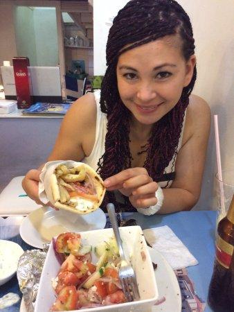 Grecia, Cafe y Suvlaki: Καλό 😃👌🏼