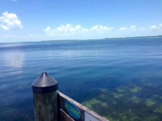 Coconut Bay Resort: Views from the dock area