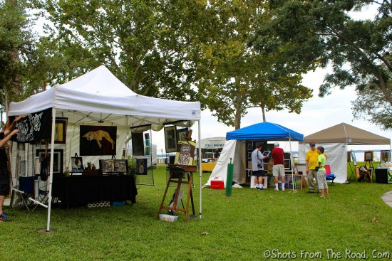 Green Cove Springs, FL: Art fest in the park