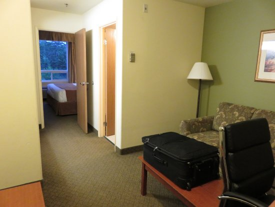 Amherst, Canada: suite junior avec sofa-lit