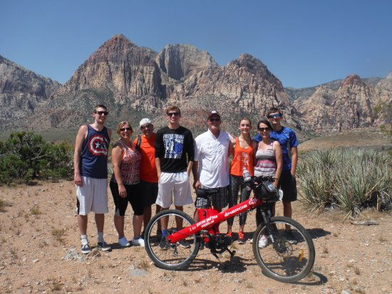 Red Electric Bike Tours : The coolest way to see Red Rock Canyon in the Summer!