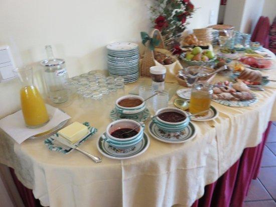 Haus Am Moos: breakfast selection 1