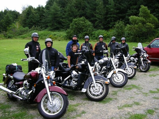Gîte Le Diplomate : supers motards de passage au gîte