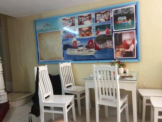 Golden Time Hostel 3: บริเวณล็อบบี้ ไว้ทานอาหารเช้า