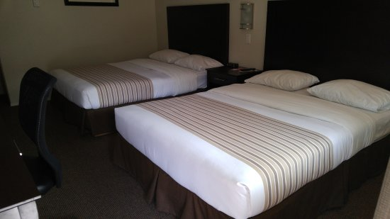 Vernon, Canadá: Standard Room with 2 Queen Sized Beds