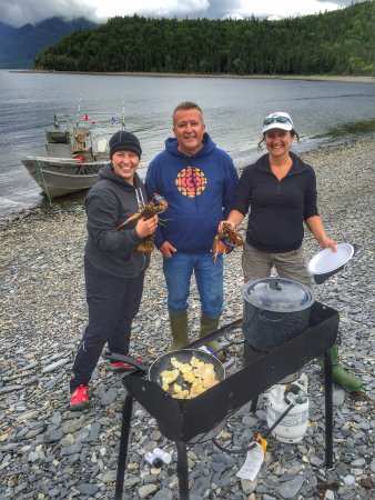 Norris Point, Canadá: Beach boil up!