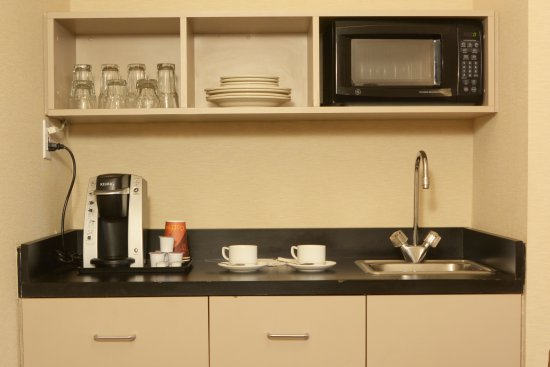 Great Neck, Nowy Jork: Kitchenette Available in Eexcutive Suite