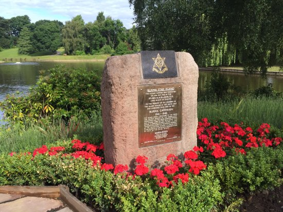 Burma Star Island Memorial