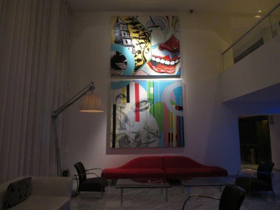 Radisson Hotel Decapolis Miraflores: Modern decor