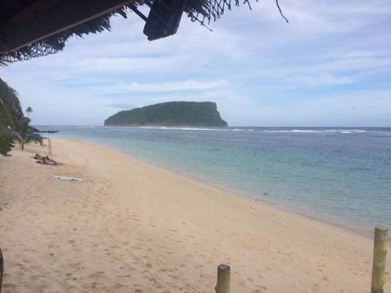 Taufua Beach Fales: Beautiful beach