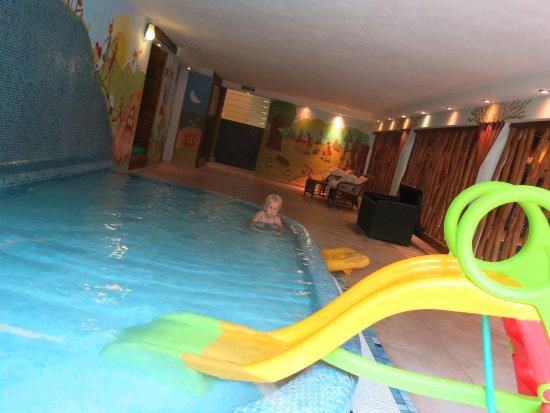Брезно, Словакия: Bazén pro děti.