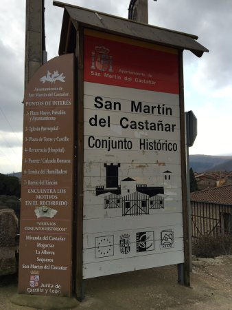 San Martín del Castañar, España: Parroquia San Martin Del Castanar
