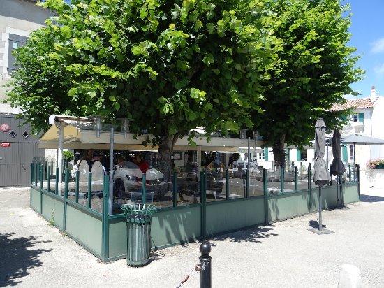 Le Clocher : La terrasse