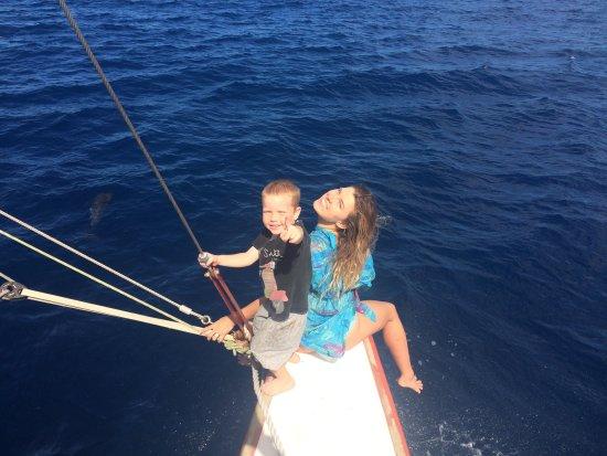 Mele, วานูอาตู: Enjoying the Dolphins