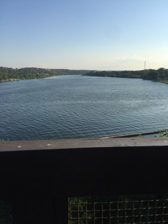 Marble Falls, TX: View from the balcony