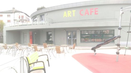 Bourg-Madame, Frankrike: Art Cafe