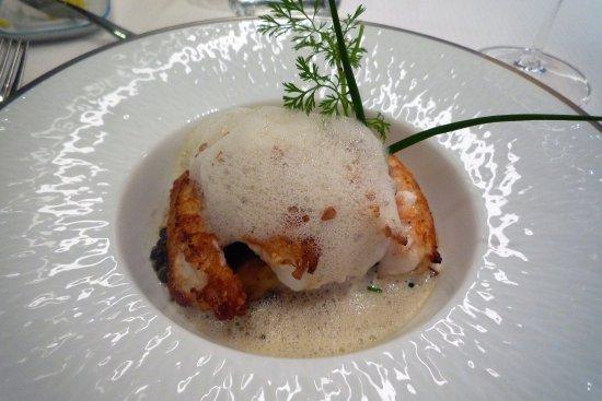 Plancoet, Frankrike: langoustines roties aux saveurs des sous-bois